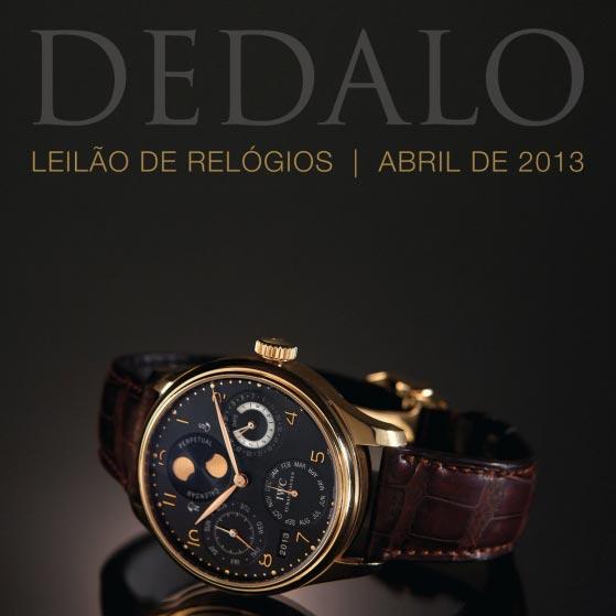 08dbd114462 A Dédalo Leilões realizará seu próximo leilão de relógios no dia 29 de Abril