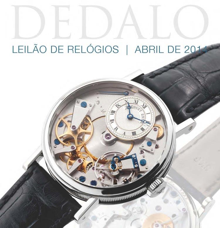 27eb7759252 A Dédalo Leilões realizará seu próximo Leilão de Relógios no dia 28 de Abril  de 2014