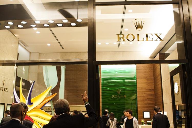 00a1bd47303 RolexReinauguração da Boutique Rolex em São Paulo