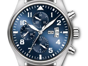 78ba559c2cc IWC Relógio é leiloado em prol do Hospital Pequeno Príncipe 02 de outubro  de 2015