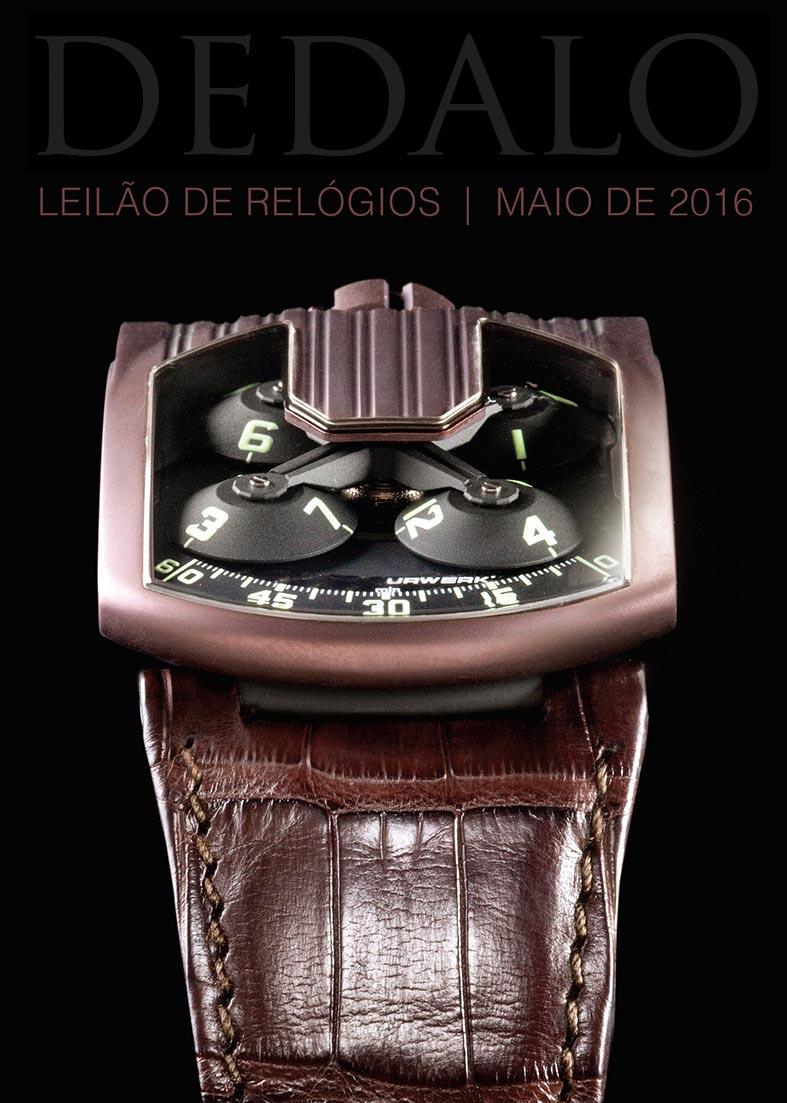 0571612afd2 A Dédalo Leilões realizará seu próximo leilão de relógios no dia 3 de Maio.