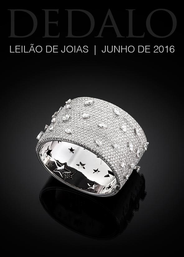 c115a37ca0f A Dédalo Leilões realizará seu próximo leilão de joias no dia 6 de Junho.