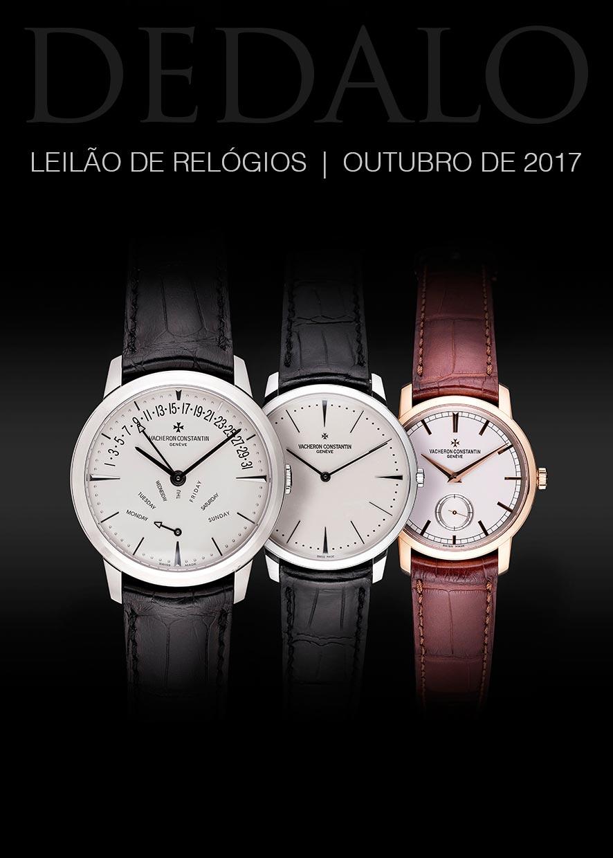 693eb4770b6 A Dédalo Leilões realizará seu próximo leilão de relógios no dia de hoje