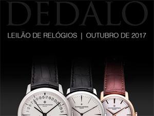 5cc24074b5b Leilão de relógios em 10 de Outubro! 10 de outubro de 2017. A Dédalo  Leilões realizará seu próximo ...
