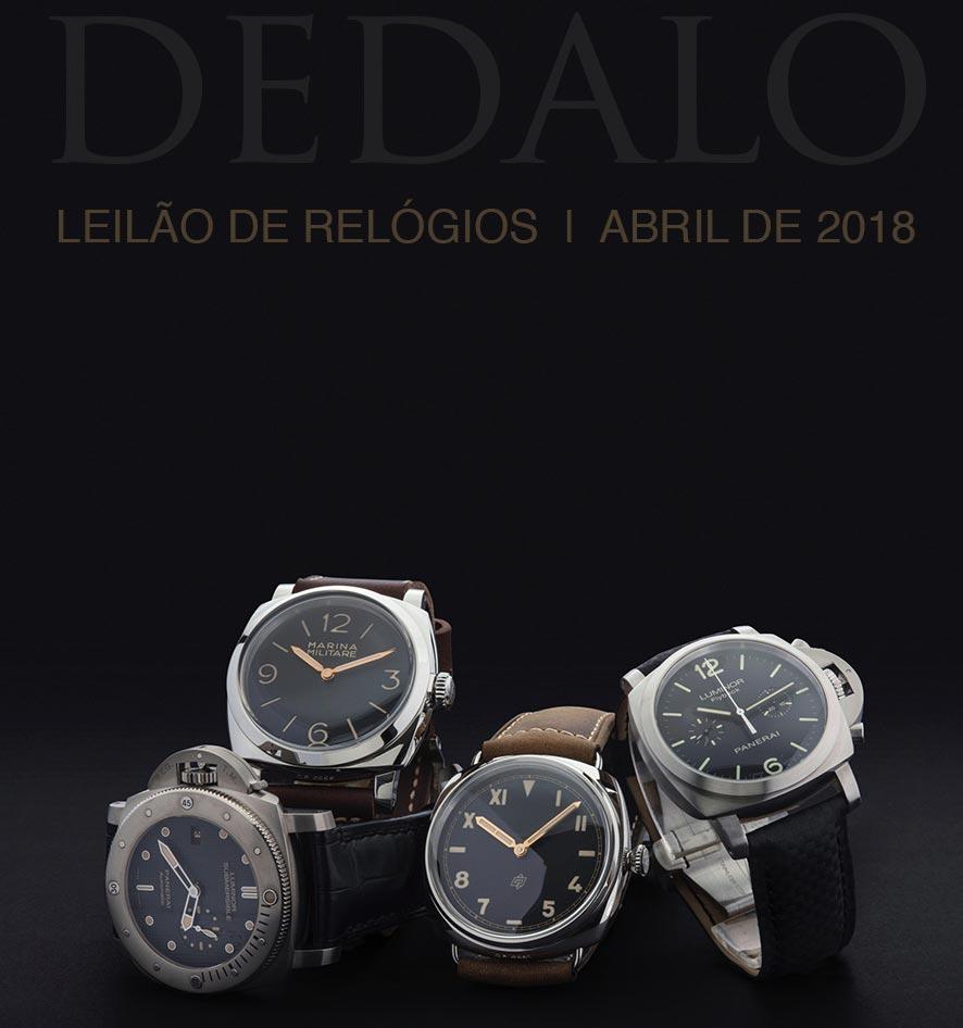 a544d09c93a A Dédalo Leilões realizará seu próximo leilão de relógios nos dias 24 e 25  de Abril.