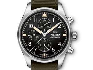 6313ef8dc25 IWC Schaffhausen Pilot s Watch Chronograph 30 de maio de 2018